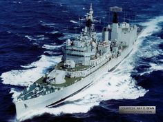HMS Blake was a light cruiser of the Tiger class of the British Royal Navy,