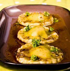 Gluten Free & Vegan Ravioli with Spicy Haricot Bean Mousse