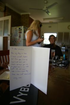 """""""Wedding Card Messages"""" with Craig & Christine:Anthony T Reynolds Gippsland Photography"""