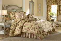 Rose Tree Brookside Bedding by Rose Tree Bedding | Brookside Comforter Sets, Bedding, Window and Pillows | PaulsHomeFashions.com