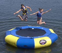 A Water Trampoline | 32 Things You'll Totally Need When You Go Camping