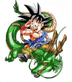 Goku and Shenron - Dragon Ball Z Photo (32585848) - Fanpop