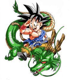 Goku and Shenron - Dragon Ball Z Photo (32585848) - Fanpop