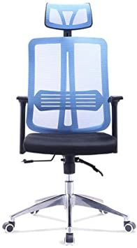 Yadianna Office Chair Blue Office Chair Rolling Swivel Mesh Chair With Arms Adjustable Height Computer Chair For Ba Mesh Chair Swivel Office Chair Office Chair