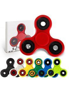 Fidget Spinner Triangle  DK's billigste - dag til dag levering i DK  Den originale Type Fidget Spinne.  Rigtig godt legetøj til alle aldre - kan bruges til afstressning, tricks eller blot til at holde hænderne beskæftigede