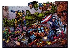 Avengers by   Bart Sears