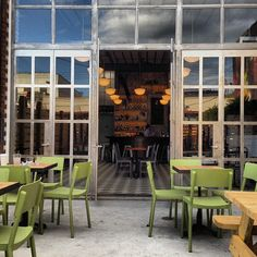 The Rookery in Brooklyn, NY. Great for a drink outside, and right next to Lot 45!