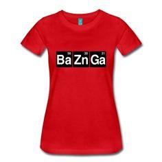 Ba56 Zn30 Ga31 T-skjorte | Spreadshirt | ID: 22972016