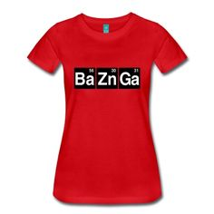 Ba56 Zn30 Ga31 T-skjorte | Spreadshirt | ID: 22972016