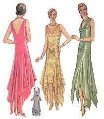 art deco dress patterns - Google Search