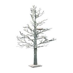 Winter 80 LED Faux Tree with Nest