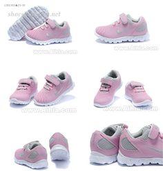 nike Baby Shoes kids light pink gray