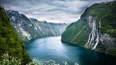 See the Seven Sisters Waterfall in Norway
