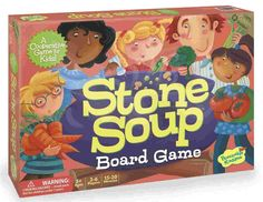 Cooperative Game Stone Soup #cooperation #game #children www.cooperativegames.com