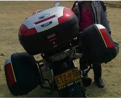 Kawasaki er6n SHAD Luggage