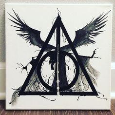 Death and The Deathly Hallows by pnhumphreys on Etsy