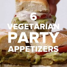 6 Vegetarian Party Appetizers by Tasty
