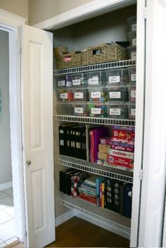kids/playroom closet