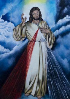 Jesus Misericordioso - 50x70 cm