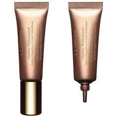 Clarins Waterproof Cream Eyeshadow ($23) ❤ liked on Polyvore featuring beauty products, makeup, eye makeup, eyeshadow, clarins, clarins eye shadow and clarins eyeshadow
