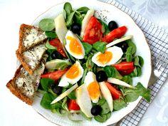 Qchenne-Inspiracje! FIT blog o zdrowym stylu życia i zdrowym odżywianiu. Kaloryczność potraw. : Przepisy FIT: Sałatka nicejska