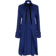Wool Bell Coat | Moda Operandi ($2,990) ❤ liked on Polyvore featuring outerwear and coats