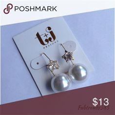 ⭐️✨Star Pearl Earrings✨⭐️ Star Pearl Earrings T&J Designs Jewelry Earrings