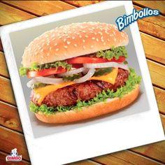 No te quedes con cara de Bimbollo. ¿Quién quiere una hamburguesa?