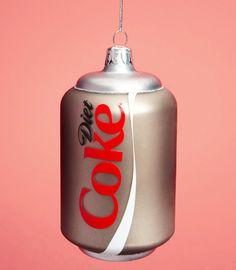 Diet Coke Ornament