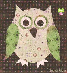 'Paper Owl' by Surinia Ulula