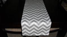 84  REVERSIBLE Table Runner BlackWhite /  by PrettyThingsbyOC, $24.99