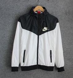 Fashion NIKE Hooded Zipper Cardigan Sweatshirt Jacket Coat Windbreaker Sportswear Full color