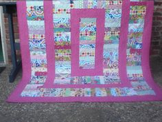 Chinese Coin Quilt--great scrap buster!