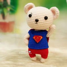 Ok Superbear is ready to change the world BUT where is his partner? Brrrrrrr......must be hiding somewhere eating tacos