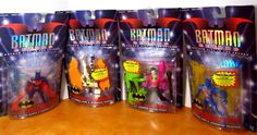 HASBRO 1999 BATMAN BEYOND  LOT of 4 COLLECTION IN PKG SEALED #Hasbro