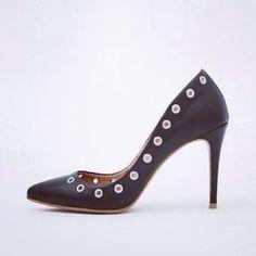 #leather # highheels #pocobello.se@PocoBelloshoes