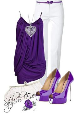 Love the colors! I can see me wearing it to a Prince tribute concert!