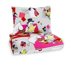 Moomin (Mumin) Duvet and cushion Covers Adventure Moomins + Linen Bedding, Duvet, Bed Linen Sets, Cushion Covers, Floor Chair, Bed Sheets, Accent Chairs, Toddler Bed, Cushions