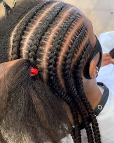 Cornrows Natural Hair, Braided Cornrow Hairstyles, Cornrows Braids For Black Women, Big Box Braids Hairstyles, Braids Hairstyles Pictures, Black Girl Braided Hairstyles, African Braids Hairstyles, Braids For Black Hair, Headband Hairstyles