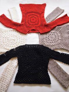 María Cielo: Sweaters crochet