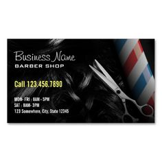 220 best barber business cards images on pinterest in 2018 barber silver scissor professional barber business cards friedricerecipe Choice Image