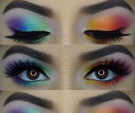 Rainbow Shimmer eyeshadow