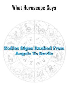 Zodiac Signs Ranked From Angels To Devils  #Aries #Cancer #Libra #Taurus #Leo #Scorpio #Aquarius #Gemini #Virgo #Sagittarius   #Pisce #zodiac_sign #zodiac #astrology #facts #horoscope #zodiac_sign_facts #love #truth #truelove  #relationship #findinglove #attachment #anxiety
