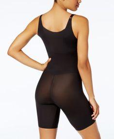 Maidenform Women's Firm Tummy-Control Instant Slimmer Long Leg Open Bust Body Shaper 2556 - Tan/Beige S Sheer Lingerie, Lingerie Sleepwear, Classy Outfits, Cool Outfits, Best Waist Trainer, Women's Shapewear, Legs Open, Long Legs, Slim