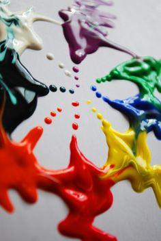 Rainbow | Arc-en-ciel | Arcobaleno | レインボー | Regenbogen | Радуга | Colours | Texture | Style | Form | paint by darkfairyashley