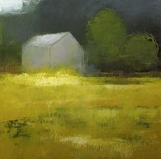 Sherborn #3 by Irma Cerese Acrylic on canvas Focus on color and elusive nature