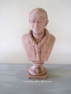 Antique French Bust of Pope Leon X111 by H. Ardant & Cie Limoges Modeled by the Sculptor Paul Duboy 1878 www.fatiguedfrenchfinds.com Sacred Art, Artist At Work, French Antiques, The Past, Handmade Gifts, Sculpture, Statue, Model, Etsy