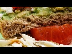 Toast cu avocado - YouTube Meatloaf, Avocado, Toast, Cooking Recipes, Vegan, Youtube, Food, Meal, Cooker Recipes