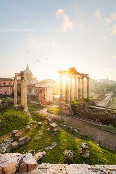 Roman Forum - Rome - Italy (von Beboy_photographies)