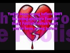 Steve Perry - Foolish Heart Lyrics